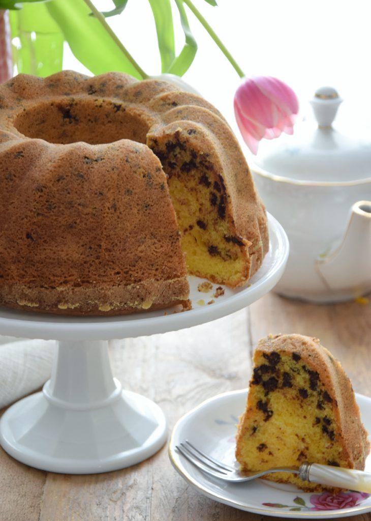 Bundt Cake gluten free (con farina di mais)