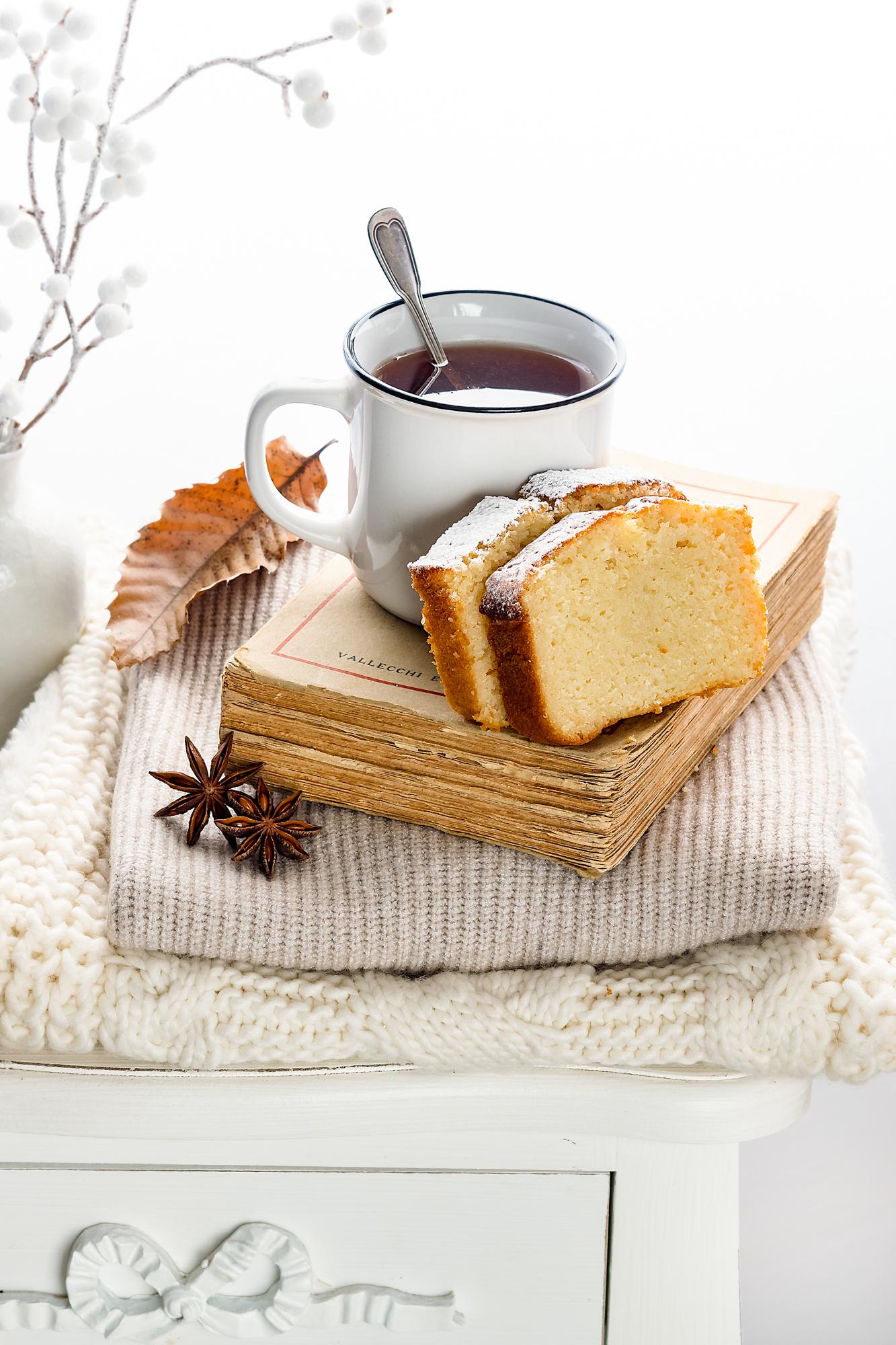 Plumcake soffice al profumo di Earl Grey tea e vaniglia