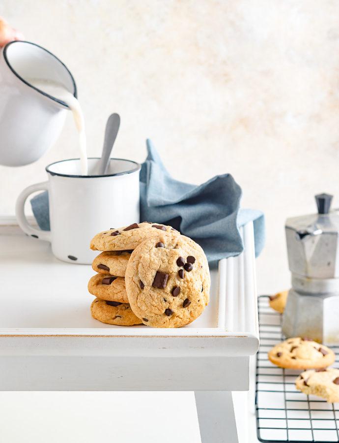 Cookies semi integrali senza burro