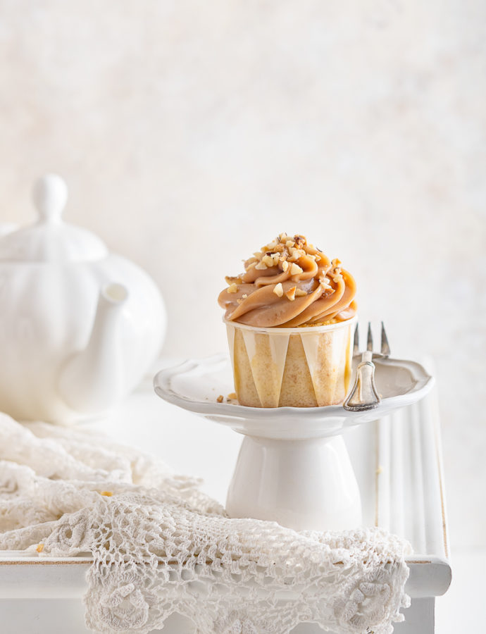 Cupcake alla nocciola
