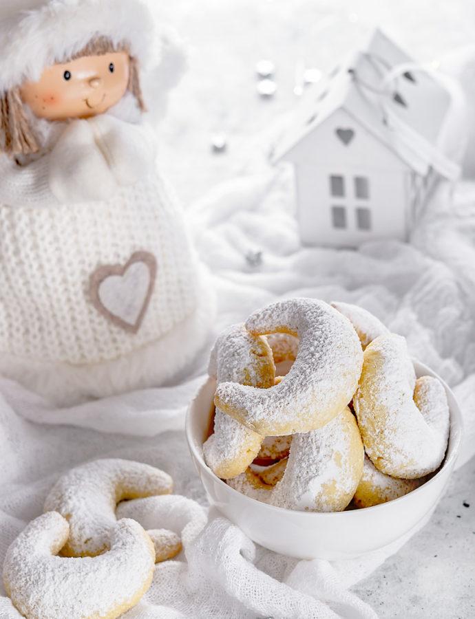 Vanille Kipferl, biscotti natalizi